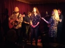 Playing at the Green Note in 2017