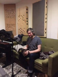 Ted in the studio